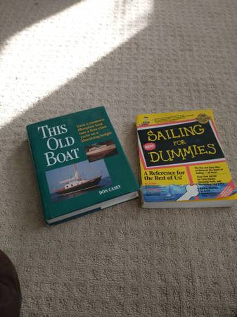 Photo Sailing for dummies and this old boat, two great books for sailing - $20 (Temecula)