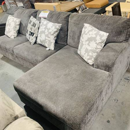 Photo Sectional Sofa From Ashley Furniture In Grey - $750 (Colton)