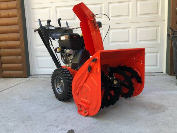 Photo Snow Blower Ariens Hydro Pro (28quot) 420cc Two-Stage - $1,450 (Running Springs)