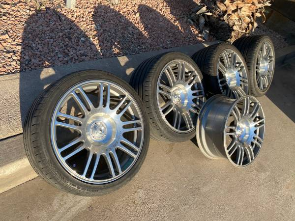 Photo Sparco Racing Forged 19quot Staggered Wheels  Tires 5 Lug 4.5quot Mustang.. - $1700
