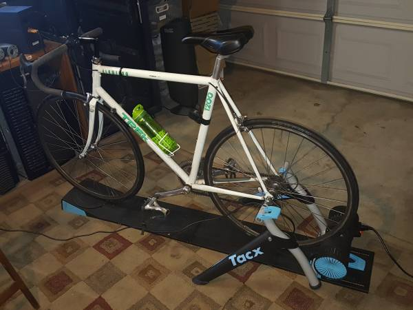 Photo Tacx Bike Smart Trainer, Steering Track, Software,  Atom USB  Cable - $1,000 (Claremont, CA)