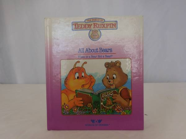 Photo Teddy Ruxpin The Story of All About Bears HC Book ONLY Vintage 1985 - $5 (LAKE ELSINORE)