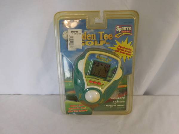 Photo Tiger Electronics Golden Tee Golf Electronic Golf Game Made in 1999 Ne - $53 (lake elsinore)