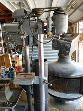 Photo Vintage Craftsman Standing Drill Press with Slow Speed Pulley - $200 (Temecula)