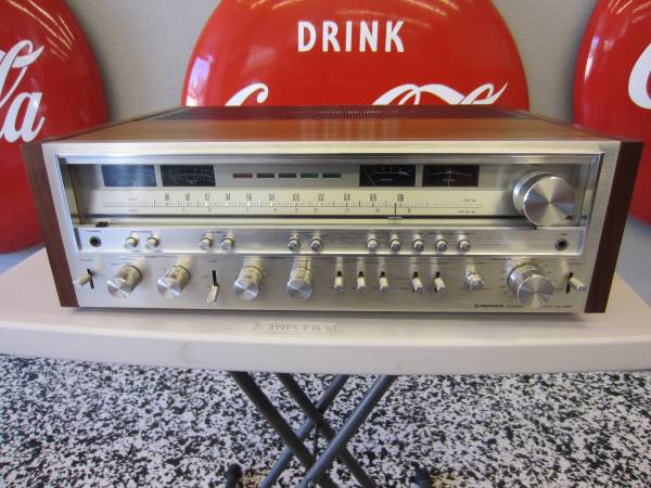 Photo Vintage Pioneer SX-980 stereo receiver-MINTY CONDITION - $1,100 (Upland)