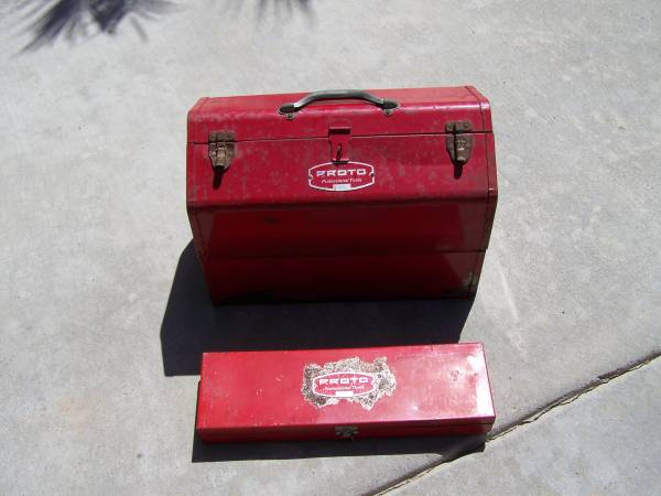 Photo Vintage Proto Cantilever Model 9951 with Proto 5295 Tool Boxes - $60 (Murrieta)