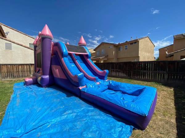 Photo Water Slides  Jumpers  Disco Dome  Party Rentals - $1 (Moreno Valley Menifee Beaumont Riverside)