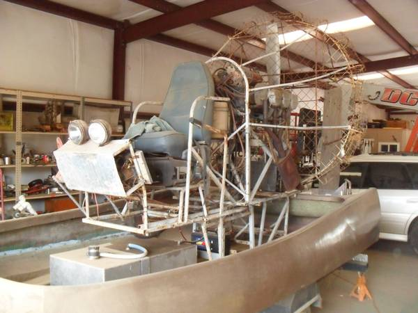 Photo air boat project - $2,000 (riverside)