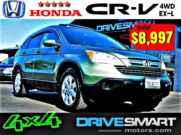 Photo quot4-WHEEL-DRIVE HONDAquot  RELIABLE HONDA CR-V EX-L 4WD BAD CREDIT OK - $8,997 (1 YELP DEALER LOWEST PRICES BEST FINANCING quot760-818-0475quot)