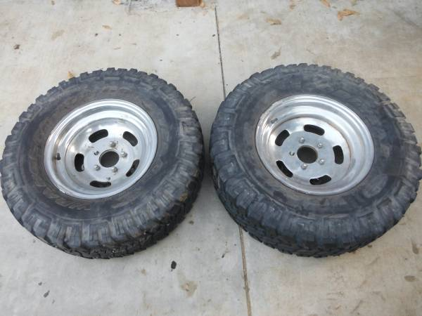 Photo vw bug baja off road wheels - $50 (Los Angeles)