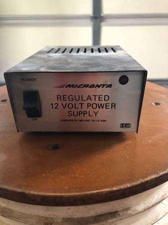 Photo 12V Power Supply - $10 (North Liberty)