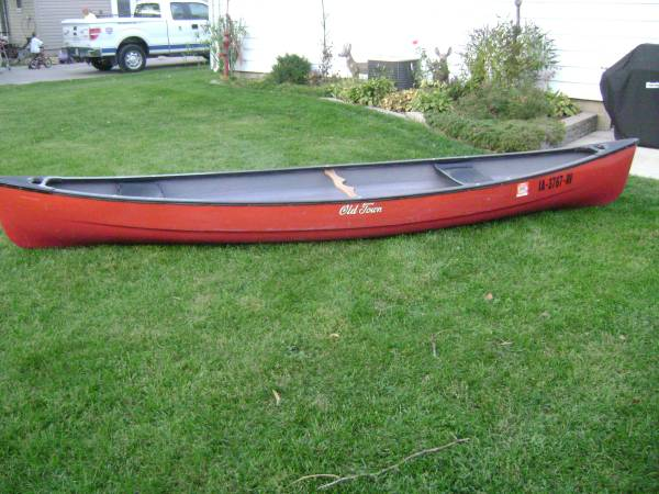 Photo 14 ft old town guide series canoe - $600 (waterloo)