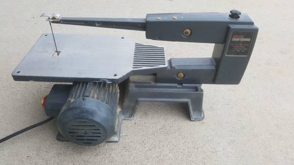 Photo 16quot Craftsman scroll saw - $55 (Iowa City)