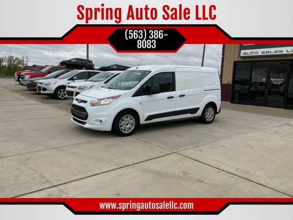 Photo 2016 Ford Transit Connect Cargo XLT 4dr LWB Cargo Mini Van wRear Door - $12900 (Davenport)