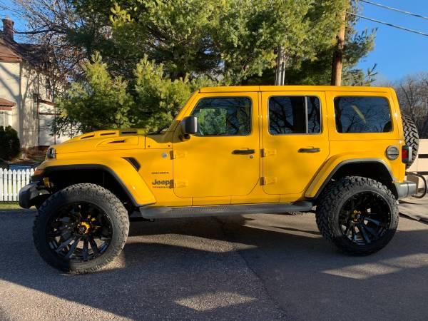 Photo 2020 Custom Jeep Wrangler Sahara - $62,000 (Minnetonka) - $62,000 (Minnetonka MN)