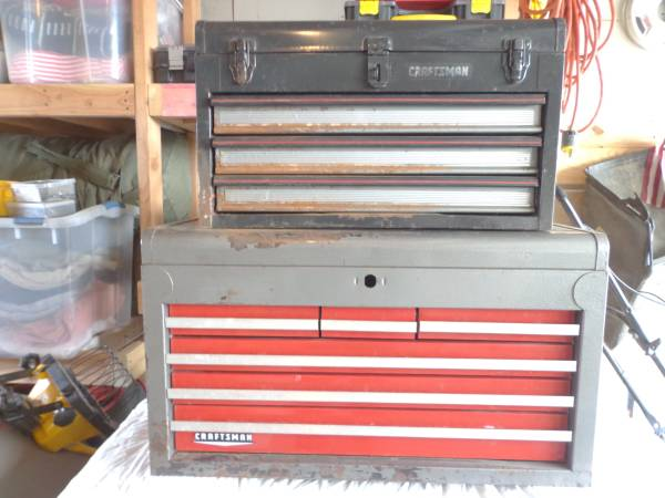 Photo 2 Craftsman Tool Boxes for Both - $75 (Riverside)
