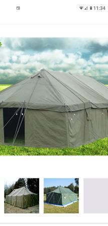 Photo Army GP medium tent - $450 (WILLIAMSBURG)