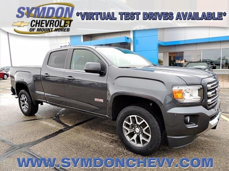 Photo Certified 2016 GMC Canyon 4x4 Crew Cab SLE for sale