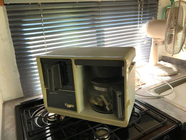 Photo Free under cabinet coffee pot from rv (SolonLake MacBride)