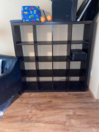 Photo IKEA Expedit 4x4 shelves - $80 (North Liberty, IA)