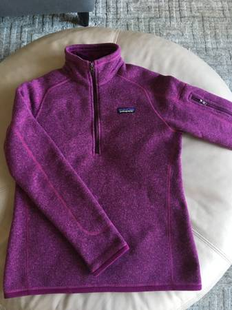Photo Patagonia fleece pullover-womens small - $25 (North Liberty)