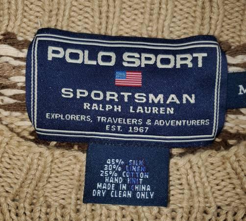 Photo Polo Sport Sportsman Sweater - $75 (Port Charlotte)