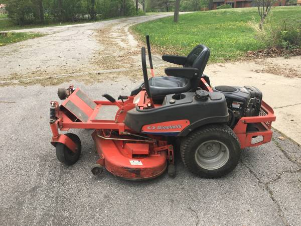 Photo Simplicity 50quot ZTR Mower, Price dropped to get sold - $1,800 (Iowa City)