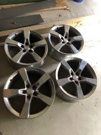 Photo 2012 2013 2014 2015 Camaro wheels rims rim wheel set 20  inch staggered hot r - $300 (Spencer)