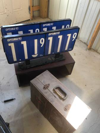 Photo 2 gas pump signs man cave bar decoration - $50 (Spencer)