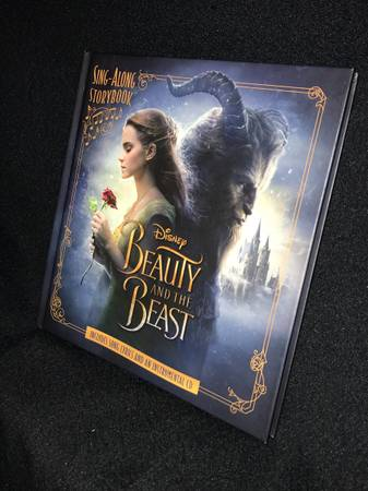 Beauty and the Beast Sing-Along by Disney Book Group With CD (2017 - $20 (GREECE)