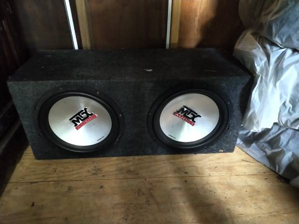 Photo Car Subwoofer MTX Audio Thunder 5500 - $100 (Ithaca)