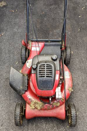 Photo Craftsman Self Propelled Lawn Mower 21quot Cut - $40 (Ithaca)