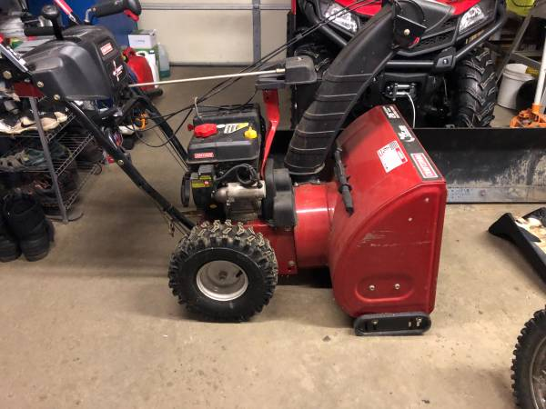 Photo Craftsman Snow Blower like NEW - $650 (Spencer)