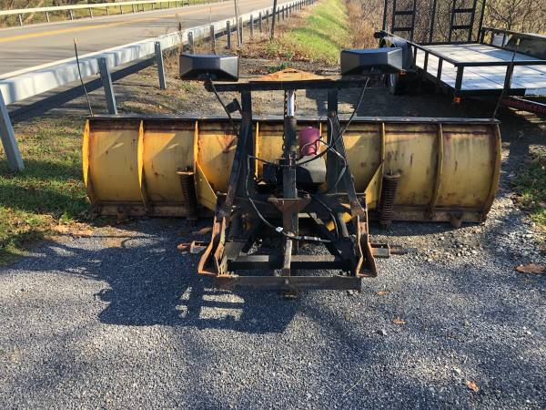 Photo Fisher plow works great - $1,500 (Spencer)