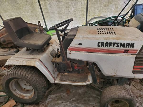 Photo Garden Tractor For Sale - $500 (Spencer)
