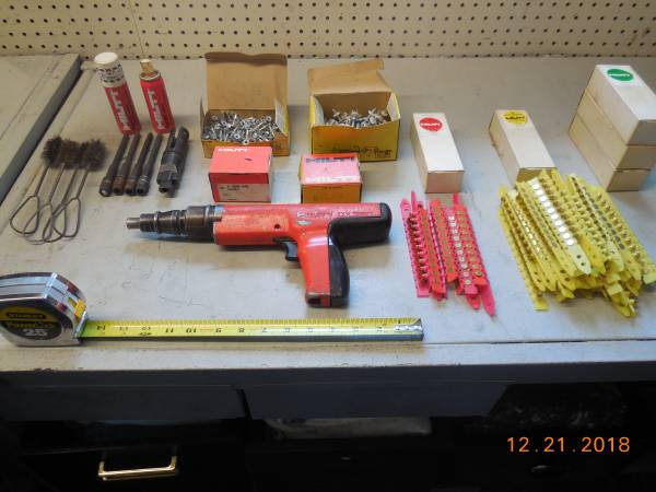 Photo Hilti DX 350 Power Actuated Fastening Nail Gun - $350 (Waverly NY)