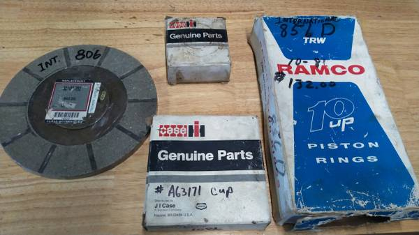 Photo New international and Case tractor parts - $50 (trumansburg)