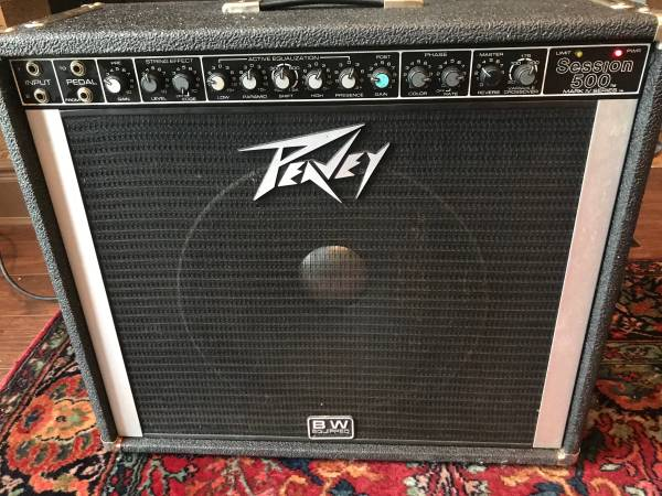 Photo Peavey session 500 vintage pedal steel guitar lfier - $300 (Leroy)