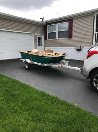 Photo Small waters two man Bass hound 10.2 boat - $1,800 (Victor)