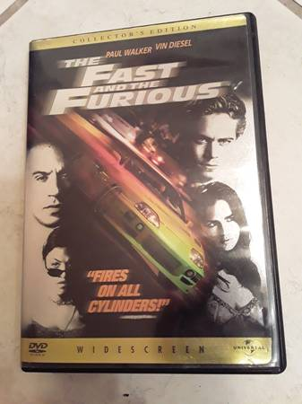 Photo The Fast and the Furious quotFires on all cylindersquot Collectors Edition - $6 (Ithaca)