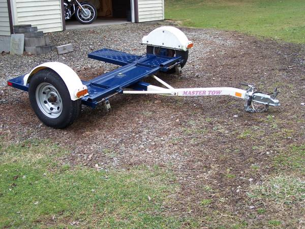 Photo Tow Dolly 80quot with Electric brakes excellent - $995 (Horseheads)