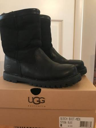 Photo UGG winter boots - Mens Size 8- never worn - $98 (Lansing, NY)