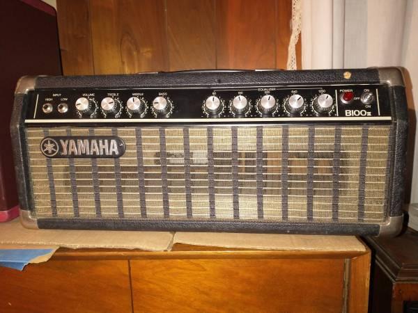 Photo Yamaha B100 II Bass Amp - $225 (cortland)
