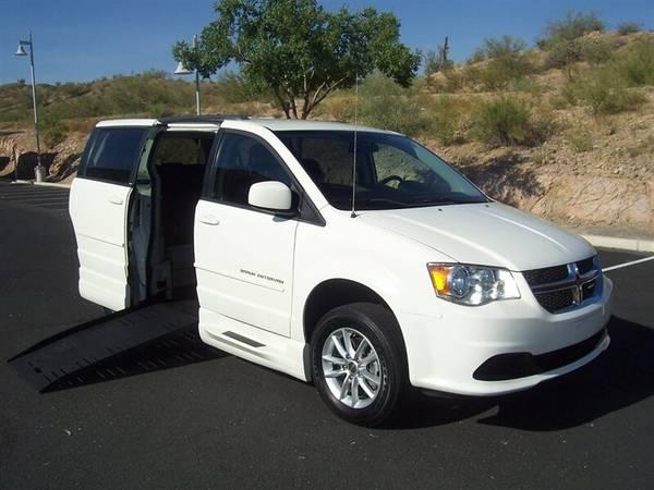 Photo 2013 Dodge Grand Caravan SXT Wheelchair Handicap Mobility Van - $22500 (BEST BUY - Arizona Mobility Center)