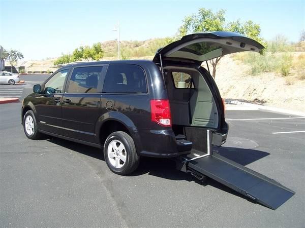 Photo 2013 Dodge Grand Caravan SXT Wheelchair Handicap Mobility Van - $17,900 (BEST BUY - AZ Mobility Center)