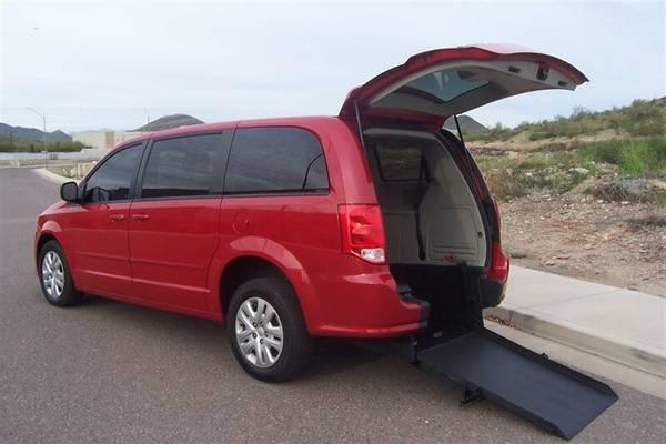 Photo 2016 Dodge Grand Caravan SE Wheelchair Handicap Mobility Van - $14900 (BEST BUY - Arizona Mobility Center)