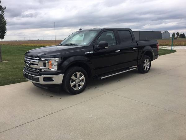 Photo 2019 Ford f150 Supercrews 2WD, Black - $29900 (Otterbein IN)