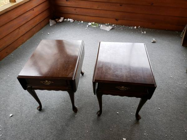 Photo Ethan Allen Tables - $75 (Madison)