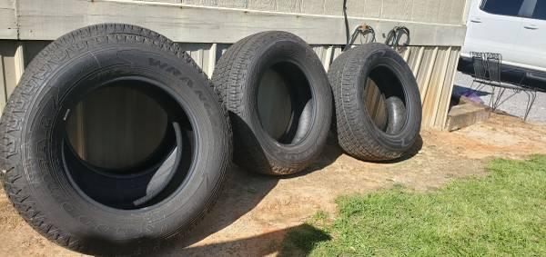 Photo Goodyear Wrangler Tires - $400 (Lena)