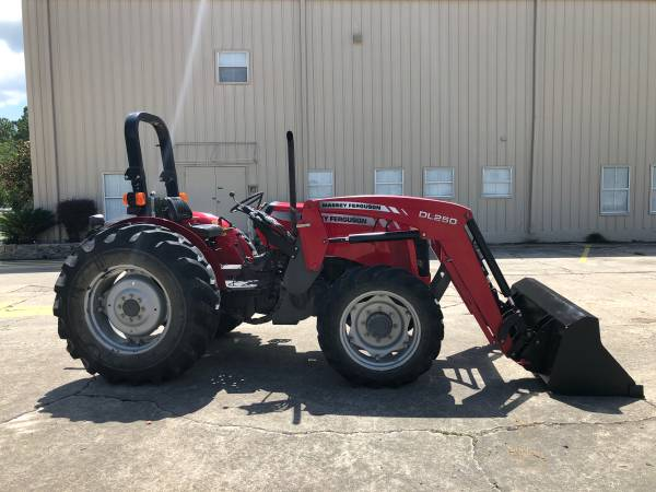 Photo Massey Ferguson 2635 Tractor 74HP 4WD Front End Loader - $22900 (Baton Rouge)